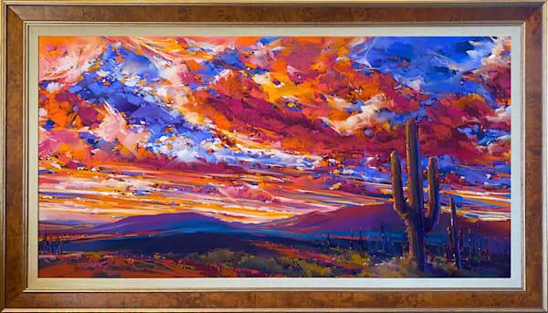 Sentinals Of The Sun Art | Michael Mckee Gallery Inc.