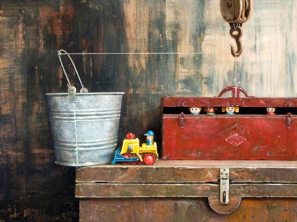 Great Escape  Art | Richard Hall Fine Art