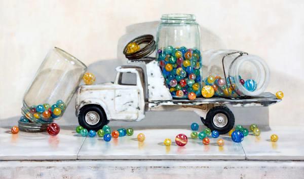 Lost My Marbles Art | Richard Hall Fine Art