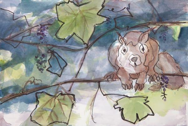 Squirrel Art | Elaine Schaefer Hudson Art