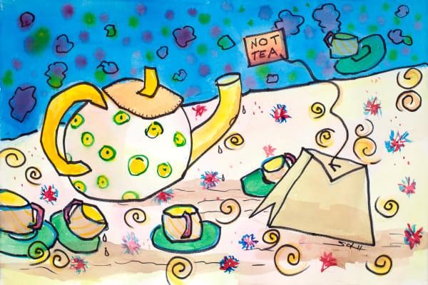 Not Tea Art | Elaine Schaefer Hudson Art