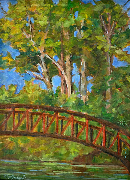 The Bridge (Print) Art   Marissa Sweet