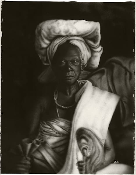 Wise Old Woman Art | The Soap Gallery