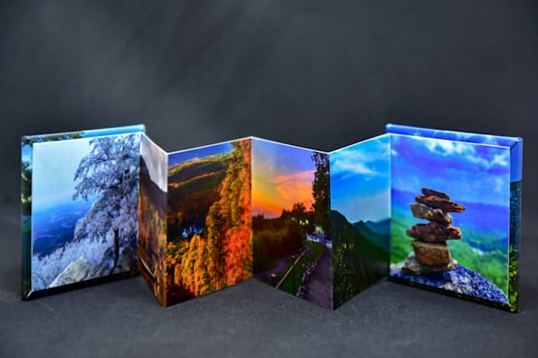 Cheaha State Park mini accordion book