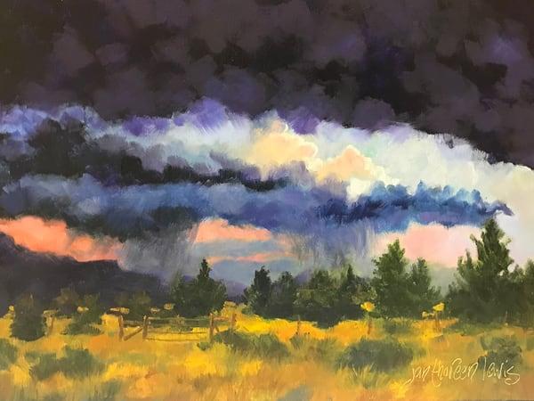 Rolling Thunder Art | Jan Thoreen Lewis Fine Art