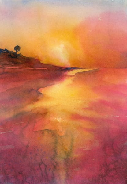 Sanibel Sunset Ii Art | ArtByPattyKane