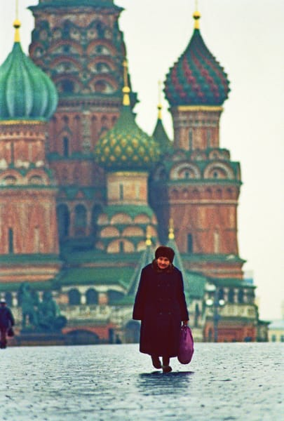 Russian Woman, Red Square