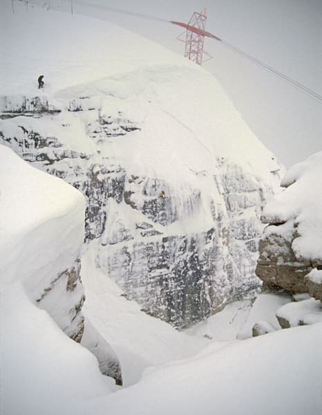 Corbet's Couloir, first and only