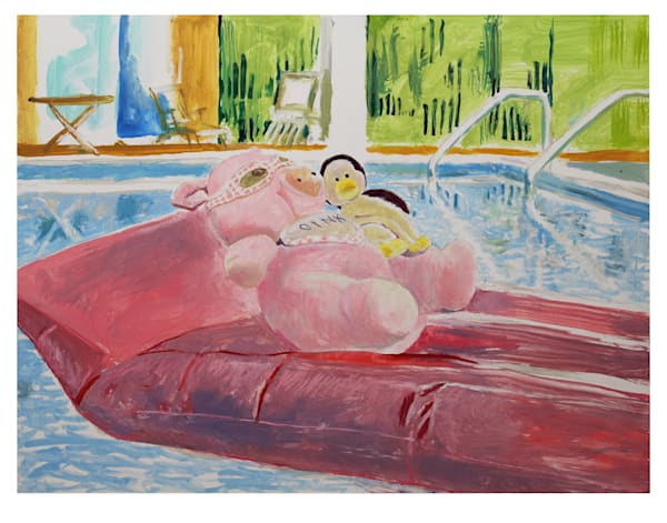 Sarge And Perky Pool  Art | Not specified