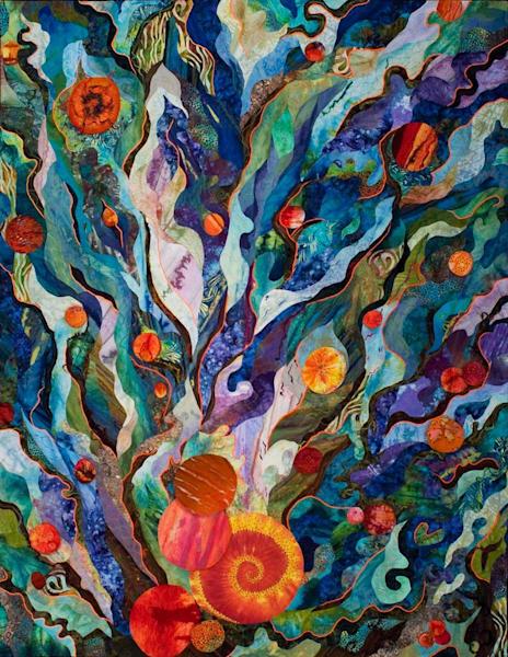 Life Unfolding Art   Barbara Olson Fiberarts