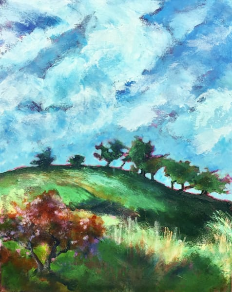 Solano Hills with Oaks