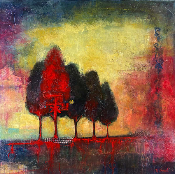 The Gathering (Print) Art | Marissa Sweet