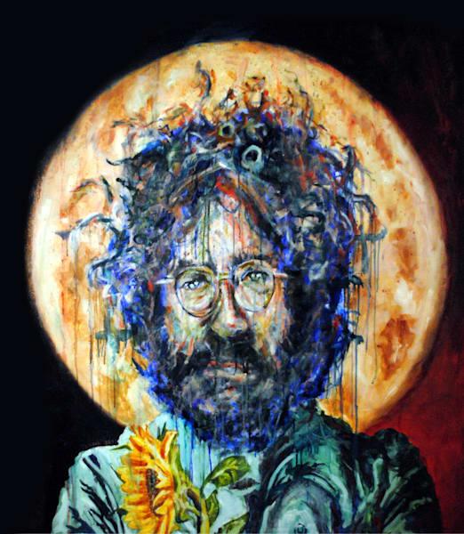 Jerry With A Sunflower Art | TRand Art Studio & Gallery