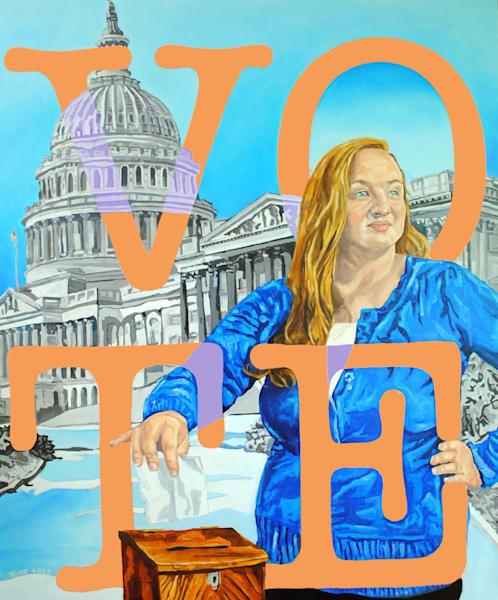 Vote: The Future Starts Now Art | TRand Art Studio & Gallery