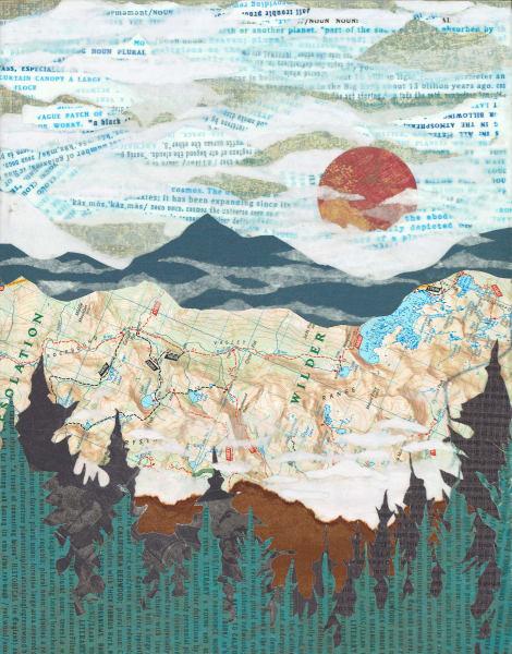 Trekking Tahoe Art | The Reclaimist
