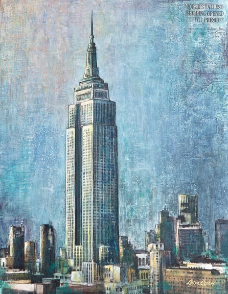 Empire State Building Nyc | Art Gifts Art | Leisa Collins Art
