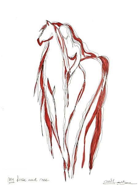Fine Art Prints | My Horse And Me | Micky Jansen