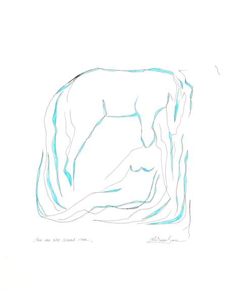 Fine Art Prints | The One Who Saved Me | Micky Jansen