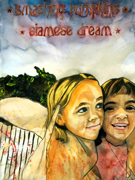 Smashing Pumpkins   Siamese Dream Reinterpretation Art | William K. Stidham - heART Art