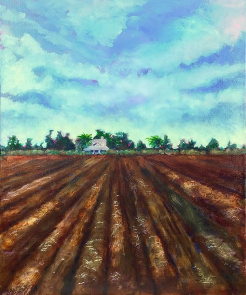 Farmhouse From North Davis Channel Art | Patrick Cosgrove Art and Photography
