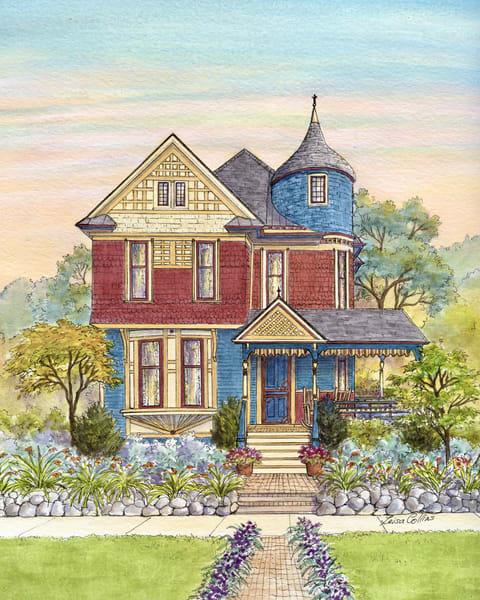 Grand Rapids Michigan Victorian Beauty | Art Gifts Art | Leisa Collins Art