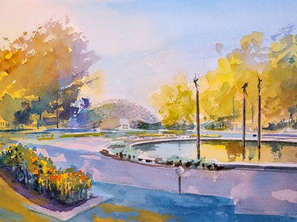 Stl Botanical Gardens 2 Climatron Art | Steven Dragan Fine Art