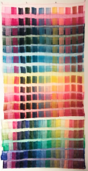 Color Chart Art | Courtney Miller Bellairs Artist