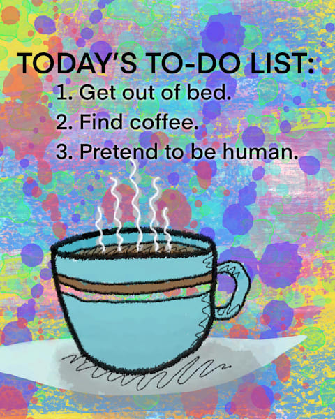 To Do List Art | Lynne Medsker Art & Photography, LLC