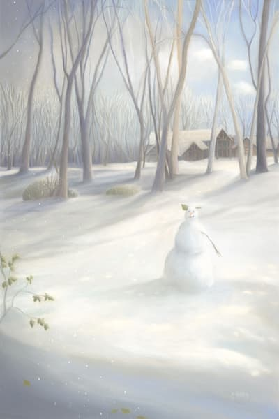 Snow Creature On Laurel Point Art | Fine Art New Mexico