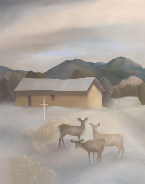 Winter Morada Ii Art | Fine Art New Mexico