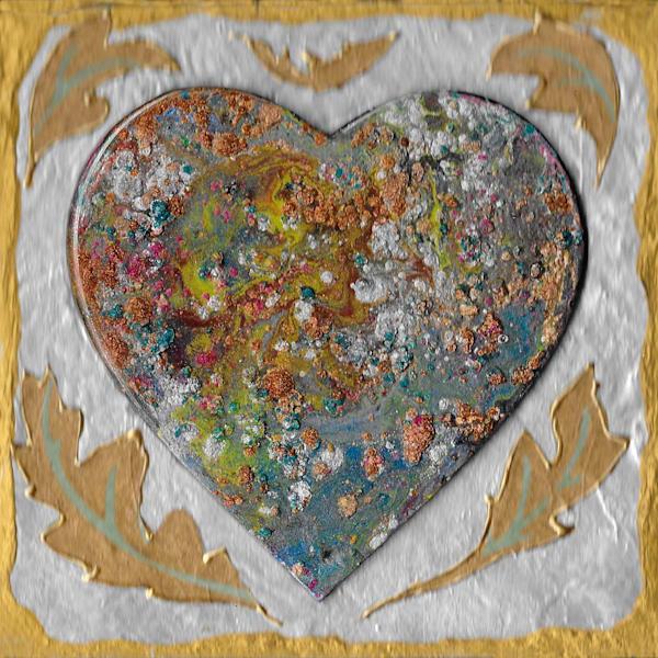 Heart Of Gold Art   Channe Felton Fine Art