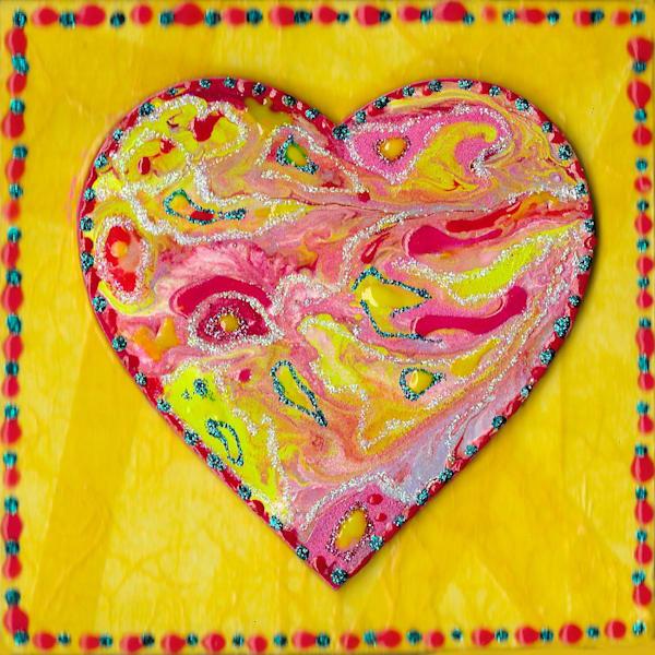 Candy Heart Art   Channe Felton Fine Art