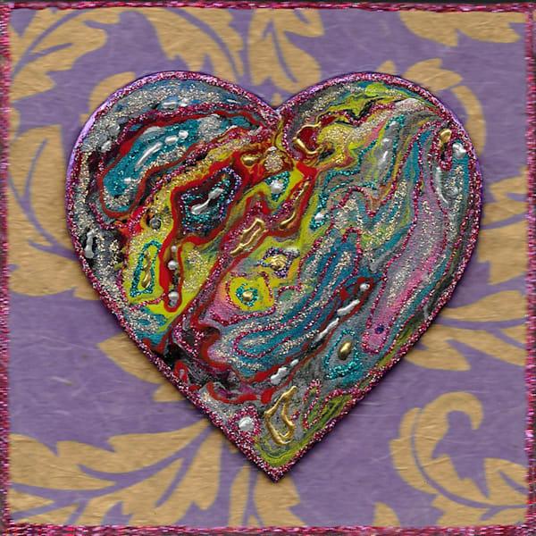 Purple Heart   Channe Felton Fine Art