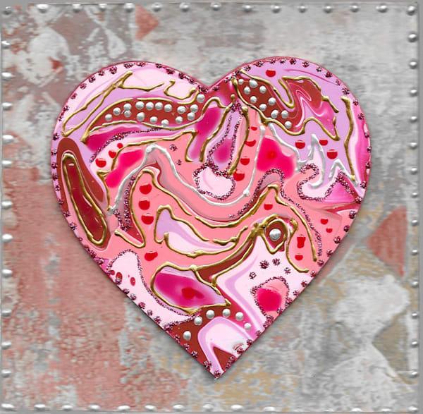 Pearly Heart Art   Channe Felton Fine Art