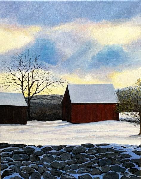 Winter Sky Art | Skip Marsh Art