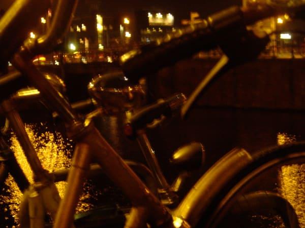Bicycle Nights Art | Angela Valente Romeo