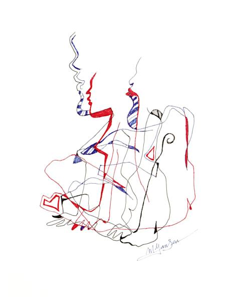 Fine Art Prints | Blind Nude #14 | Micky Jansen