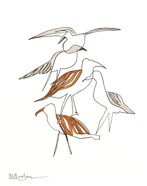 Fine Art Prints | Seagulls I | Micky Jansen