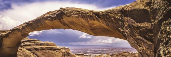 Fine Art Print | Landscape Arch as a Pamorama