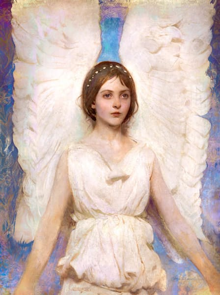 O That I Were an Angel after Abbot Handerson Thayer