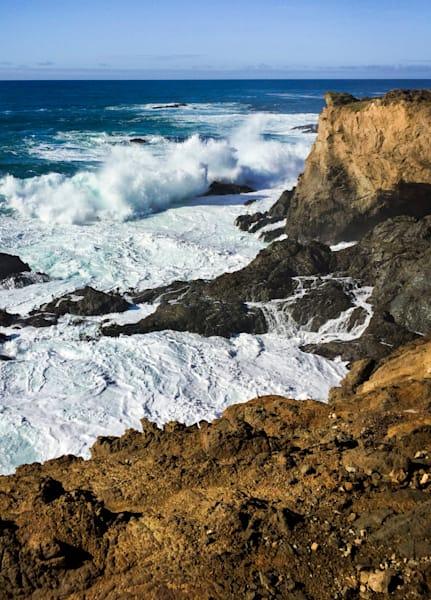 Wave Crash, Ft. Bragg Art | Patrick Cosgrove Art and Photography