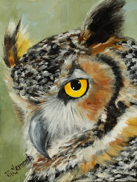 I've Got My Eye On You Art | Marsha Clements Art