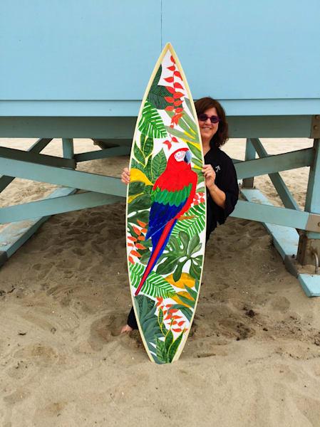 Andrea At Lifeguard Station | Kichaven Art