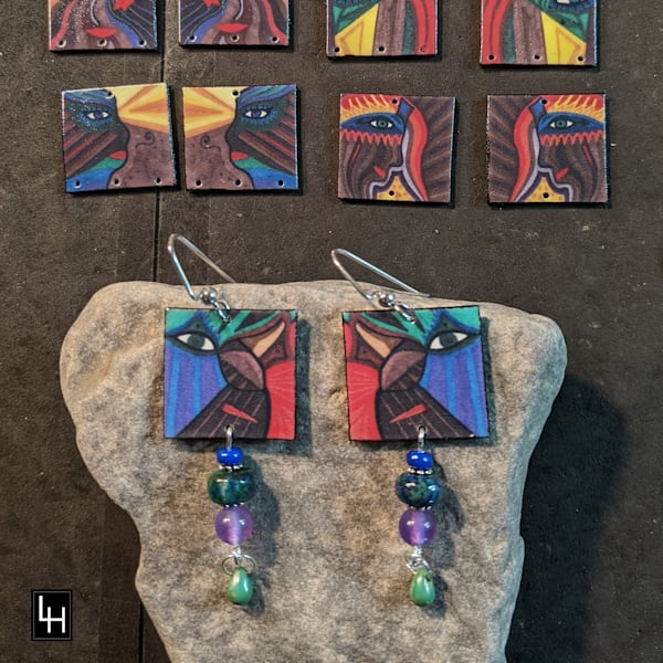Face Two_No. 1 Earrings