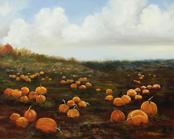 Pumpkin Patch Art | Marsha Clements Art