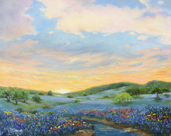 Sunset In Bloom Art | Marsha Clements Art