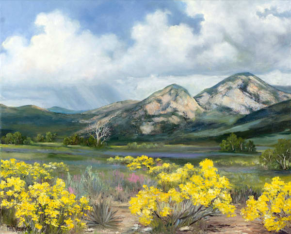 The Call Of The Mountain Art | Marsha Clements Art