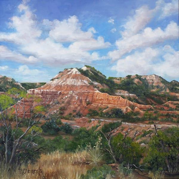 Palo Duro Peak Art | Marsha Clements Art