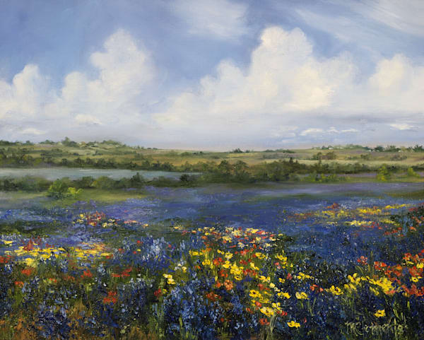Texas Spring Art | Marsha Clements Art