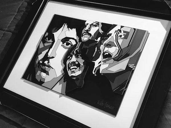Beatles 3 D Art | Ken Jones Graphics